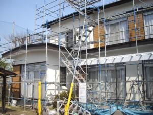 外壁塗装と一緒に雨戸を金属サイディングでリフォーム!