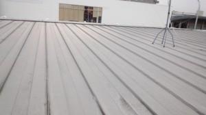 内樋屋根の葺き替え工事