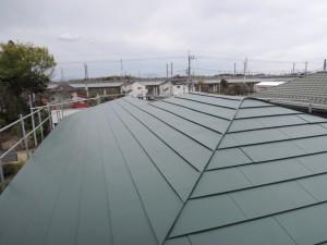 アフターガルバリウム鋼板屋根