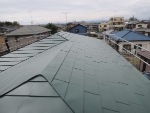 ガルバリウム鋼板屋根アフター