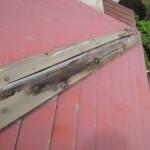 雨漏り修理(屋根と戸袋)