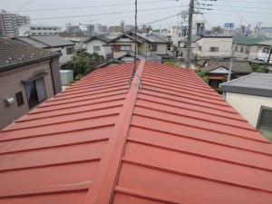 瓦棒トタン屋根