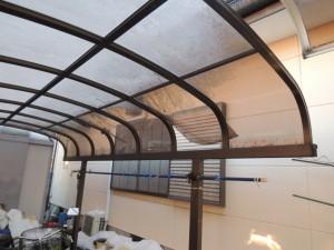 カーポートの屋根保険修理