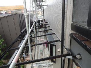 テラス部分の外壁リフォーム