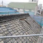 大谷石蔵の減震リフォーム(屋根葺き替え工事)