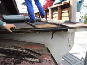 吉沢板金の雨漏り修理