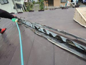雨漏り修理の様子