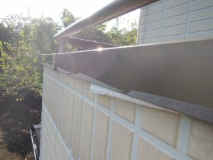 外壁塗装前の雨仕舞の修正