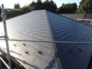 コロニアル屋根の葺き替え