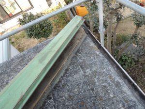 カラーベストと棟板金の劣化