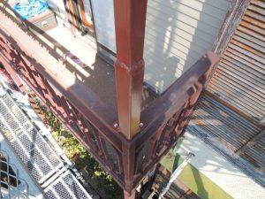 アフター鉄骨柱修理
