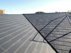 スレート瓦コロニアル屋根の劣化