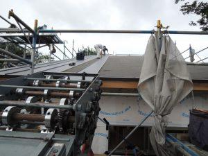 18mの長尺屋根