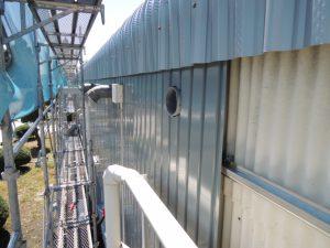 換気扇ダクトなどの役物部分の処理