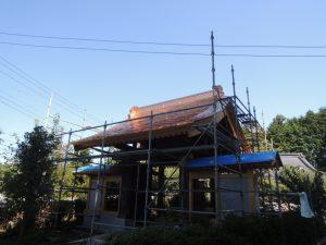 銅板葺き屋根の魅力