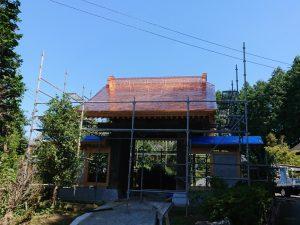 銅板屋根工事