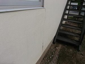 モルタル外壁にひび!?でも、今気づいたのはラッキーかもしれませんよ。