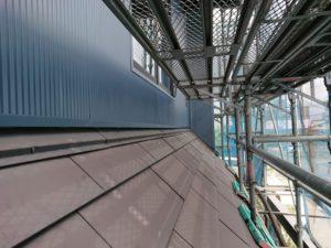 屋根との絡みの部分