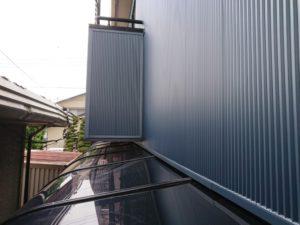 カーポート屋根の復旧