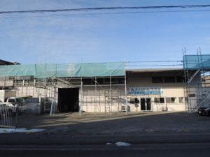 倉庫屋根外壁リフォーム