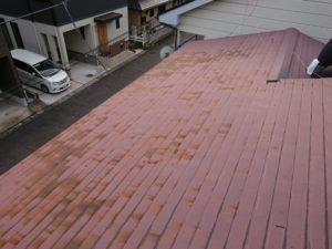 屋根の錆の様子
