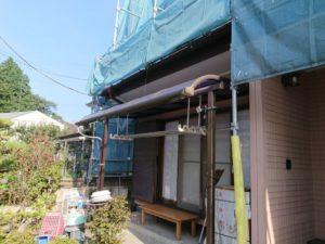 外壁カバー工法ビフォー