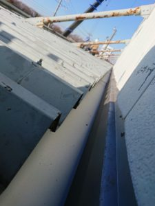 内樋からの雨漏り改善
