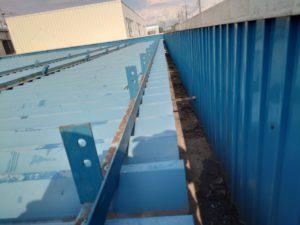 内樋の雨漏り改善